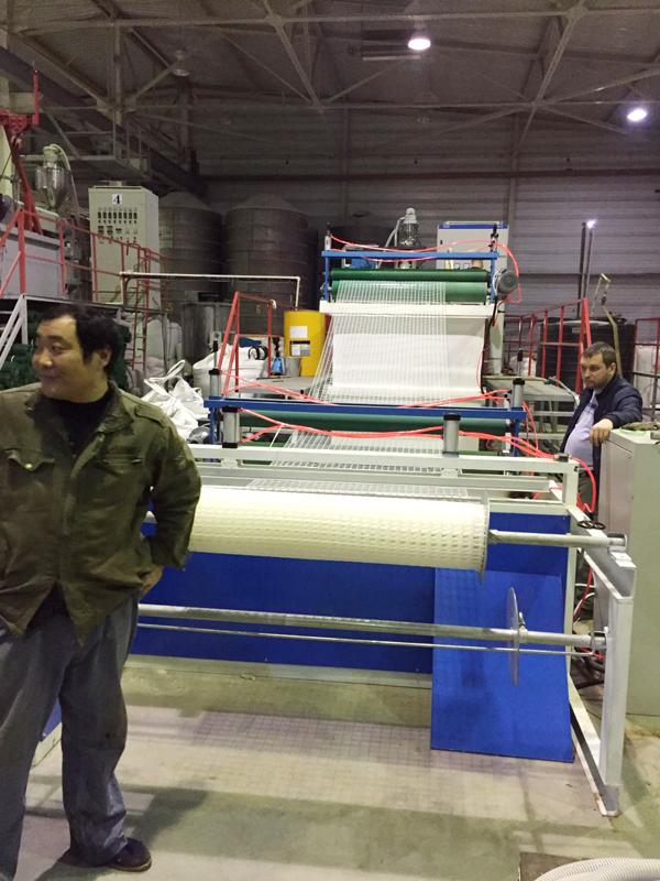 方格网设备生产线